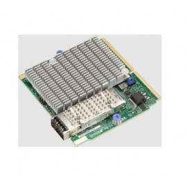 Jednoportowy adapter Supermicro InfiniBand 100Gbps SIOM AOC-MIBE6-M1CM-O (Twin)