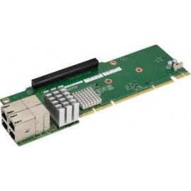 1U Ultra Riser 4-port 10Gbase-T, Intel X540 (For Integration Only)