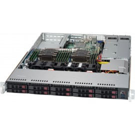 1U SC116 WIO Chassis w/ Redundant 750W Power(24 Pin PDB)