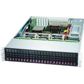 Black 2U SC216B SAS3 LP CSE w/1 Expander Redundant 1200W
