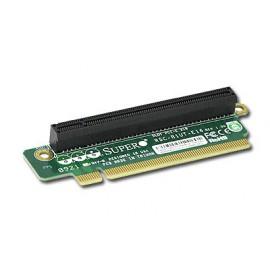 Pasywny Riser Supermicro 1U LHS 1xPCI-E 2.0 x16 R1UT-E16