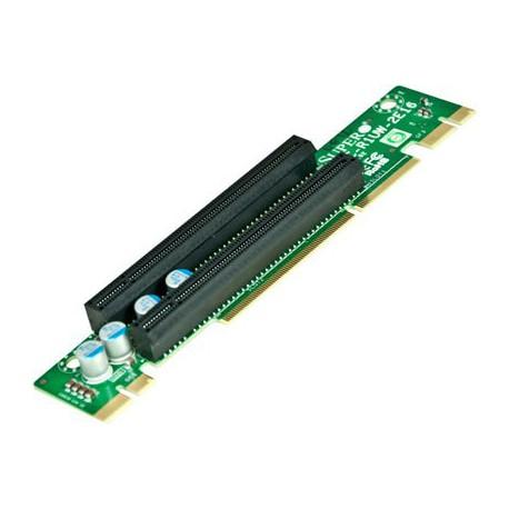 Pasywny Riser Supermicro 1U LHS 2xPCI-E 3.0 x16 R1UW-2E16