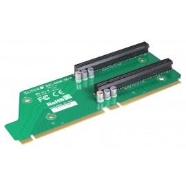 Pasywny Riser Supermicro 2U LHS 2xPCI-E 2.0 x16 R2UG-2E16