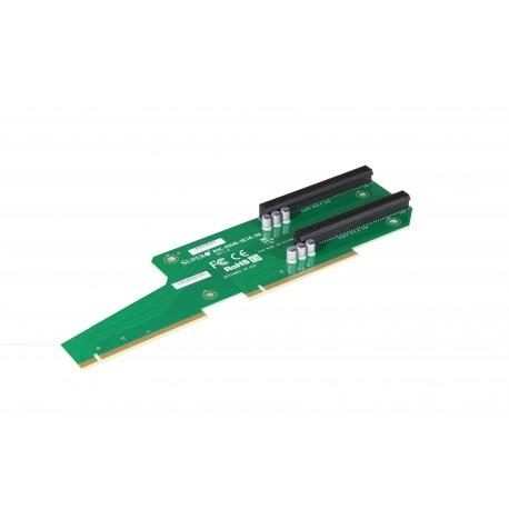 Pasywny Riser Supermicro 2U LHS 2xPCI-E 3.0 x16 R2UG-2E16-X9