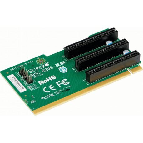 Pasywny Riser Supermicro 2U LHS 3xPCI-E 3.0 x8 R2US-3E8R
