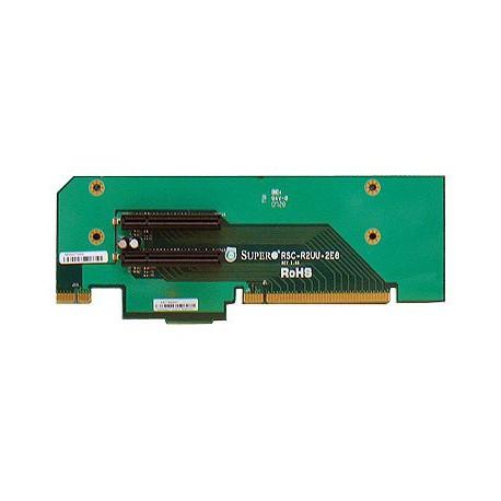Pasywny Riser Supermicro 2U LHS 2xPCI-E 2.0 x8 R2UU-2E8
