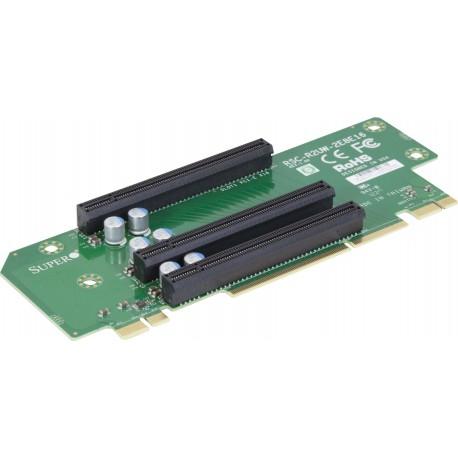 Pasywny Riser Supermicro 2U LHS 3xPCI-E 3.0 x16 R2UW-2E8E16