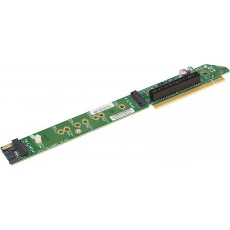 Pasywny Riser Supermicro 1U RHS PCI-E x8 z gniazdem M.2 NVMe
