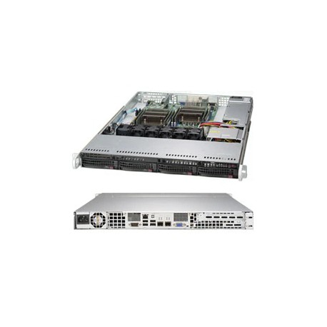 Supermicro SuperServer rack 1U SYS-6018R-TDTP