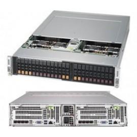 BigTwin 2U 2-Node, 12x2.5 cala SAS+NVMe, X11DPT-B, 217BHD+