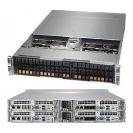 X10 BigTwin 2.5 cala 2U4N Broadcom3108 Hybrid
