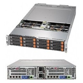 BigTwin 2U 2-Node, 6x3.5 cala SAS+NVMe, X11DPT-B, 827BHD+
