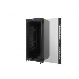 SZAFA RACK STOJĄCA 19 cali 27U 600X800 DRZWI SZKLANE LCD LANBERG