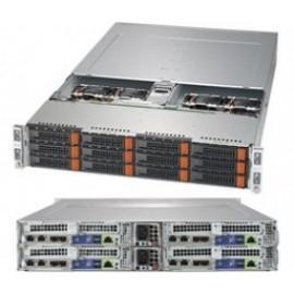 BigTwin 2U 4-Node, 3x3.5 cala SAS+NVMe, X11DPT-B, 827BHQ+