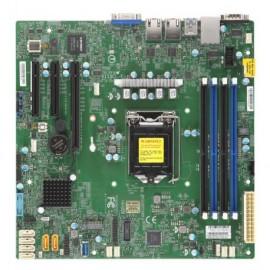 X11SCL-F SKT LGA1151,4x DDR4-2666MHz ECC UDIMM,C242 PCH,3x PCI-E