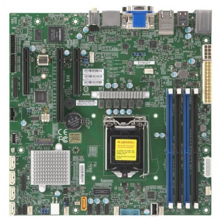 X11SCZ-F,Micro ATX,Coffeelake PCH C246,LGA1151,1 PCIEx4
