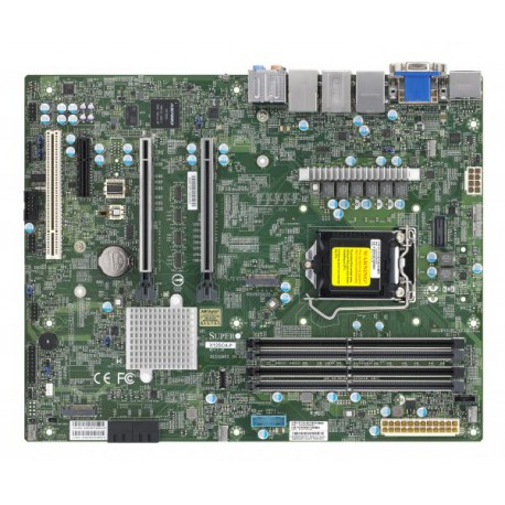 [NR]X12SCA-F, Intel W480 Chipset, support Intel Comet lake-S
