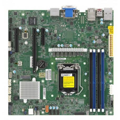 [NR]X12SCZ-F,Micro ATX,Comet Lake PCH W480,LGA1200,1 PCIE x1