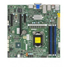 [NR]X12SCZ-TLN4F,Micro ATX,Comet Lake PCH W480,LGA1200,1 PCI