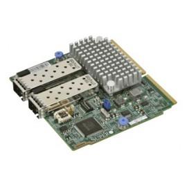 SIOM 2-port 10G SFP+ with 1U bracket, Intel 82599ES