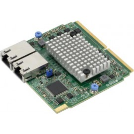 SIOM Dual-port 10GbE RJ45 10GBase-T, Broadcom BCM57416 w/ 1U bracket