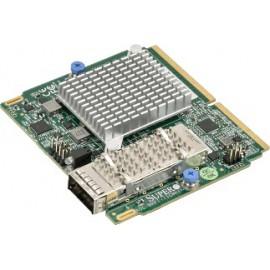 SIOM 1-port QSFP28 Omni Path controller, Intel OPA, with 1U bracket