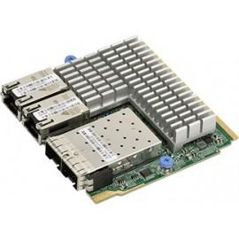 SIOM 2-port 25GbE SFP28 Mellanox CX-4 Lx EN and 2-port 10GbE RJ45 Intel X550 with 1U bracket