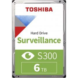 Toshiba HD3.5 cala SATA3 6TB S300 7.2k/Bulk